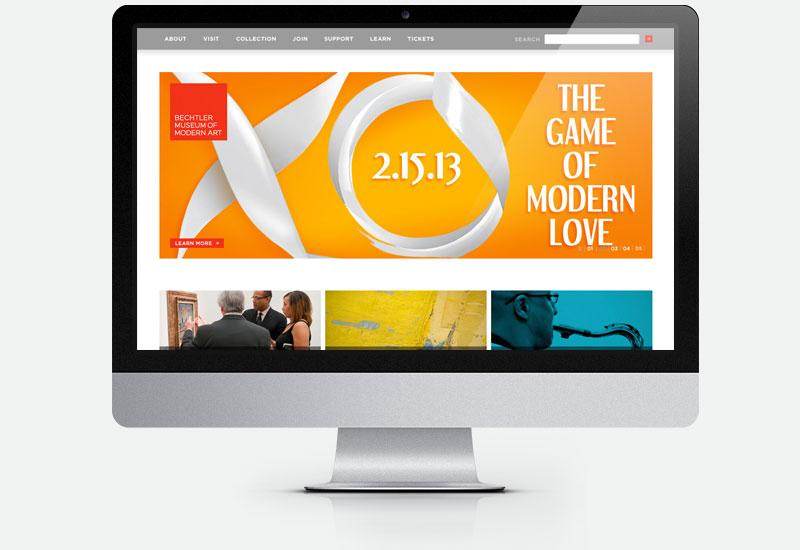 Bechtler Museum Gala website banner