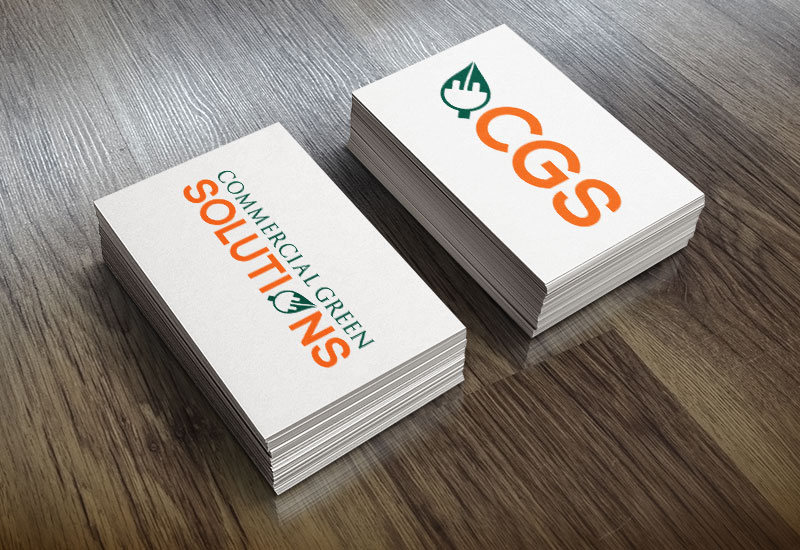 Commercial Green Solutions business cards