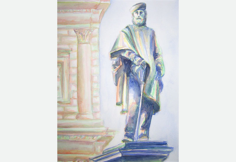 Garibaldi in Florence painting