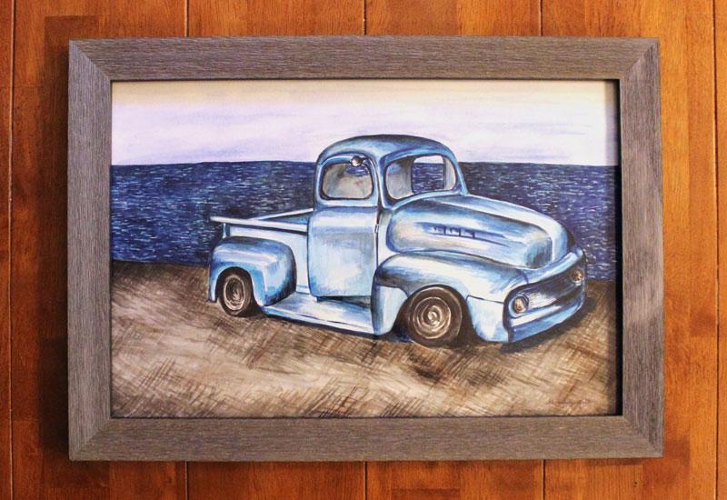 OBX Classic Trucks painting